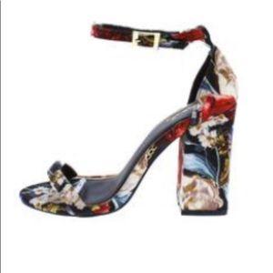 Cute floral heels
